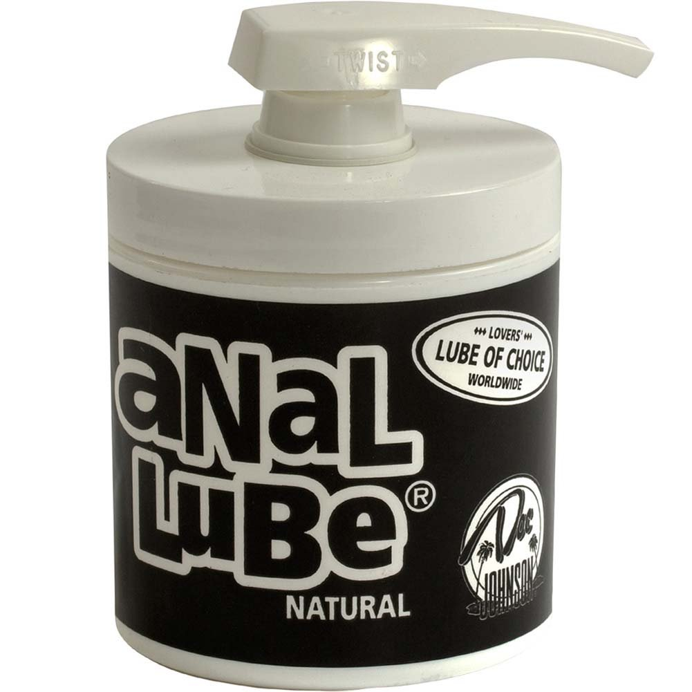 Natural Unscented Anal Lube, 4.5 Oz (127 G)