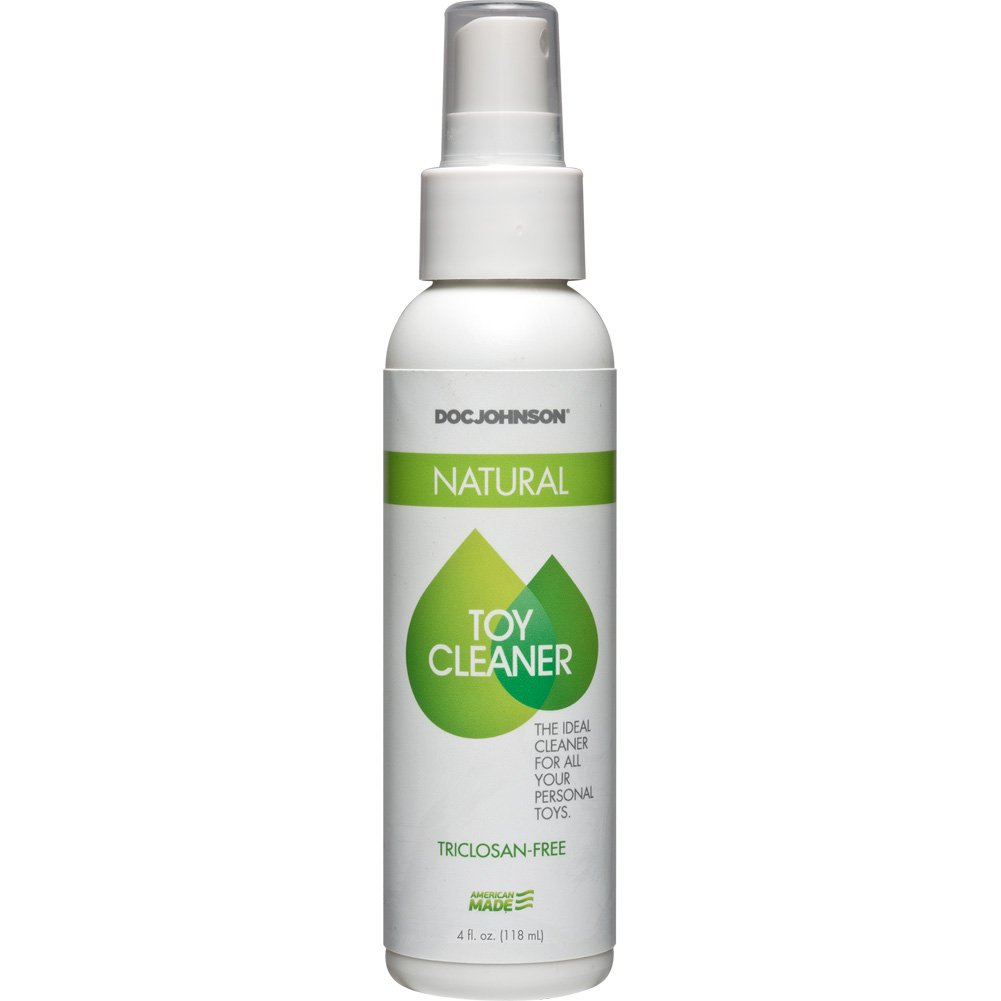 Natural Toy Cleaner Spray, Triclosan Free, 4 Fl.Oz (118 mL)