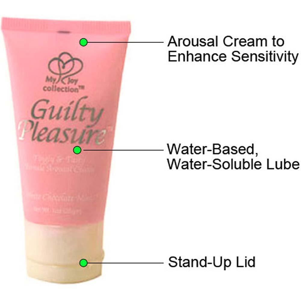 Guilty Pleasure Female Arousal Cream, 1 Fl.Oz (30 mL), White Chocolate Mint