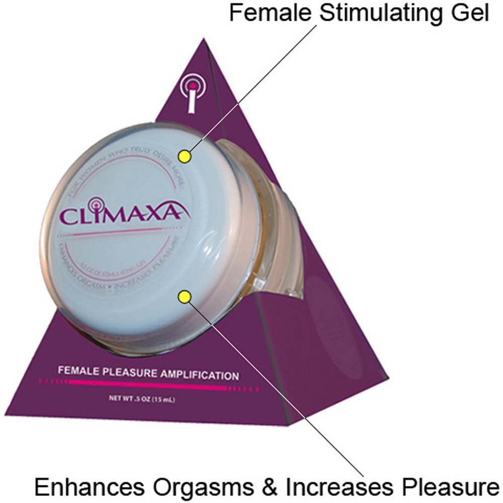 Climaxa Female Pleasure Amplification Gel, 0.5 Fl.Oz (15 mL)