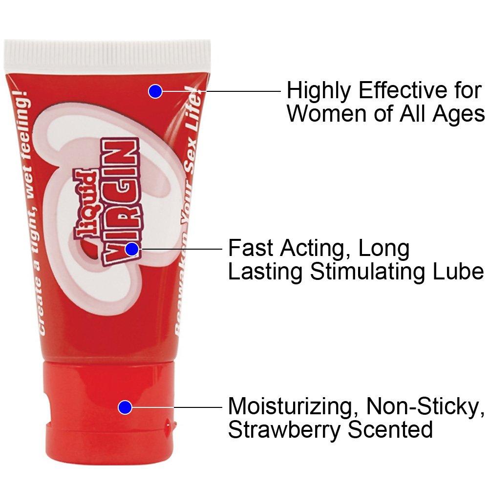 Hott Products Liquid Virgin Tightening Lubricant for Women, 1 Fl.Oz (30 mL)
