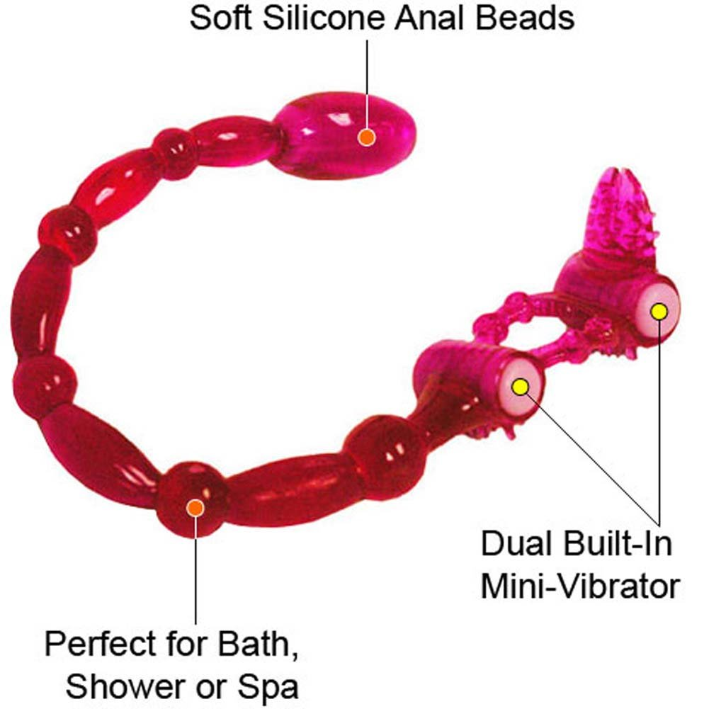 Super Xtreme Scorpion with Clitoral Tongue and Anal Vibe, Magenta