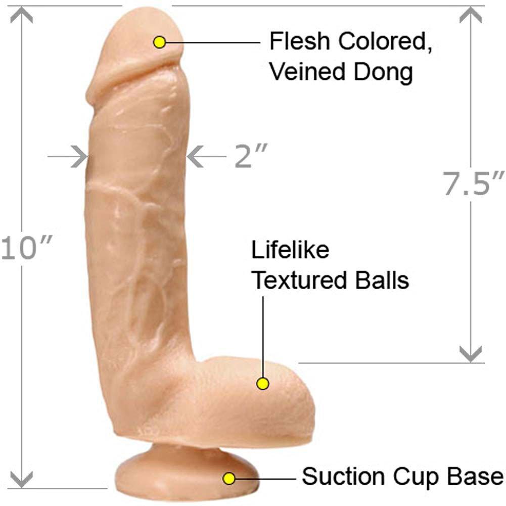 "Main Attraction Solid Waterproof Dong, 10"", Natural"