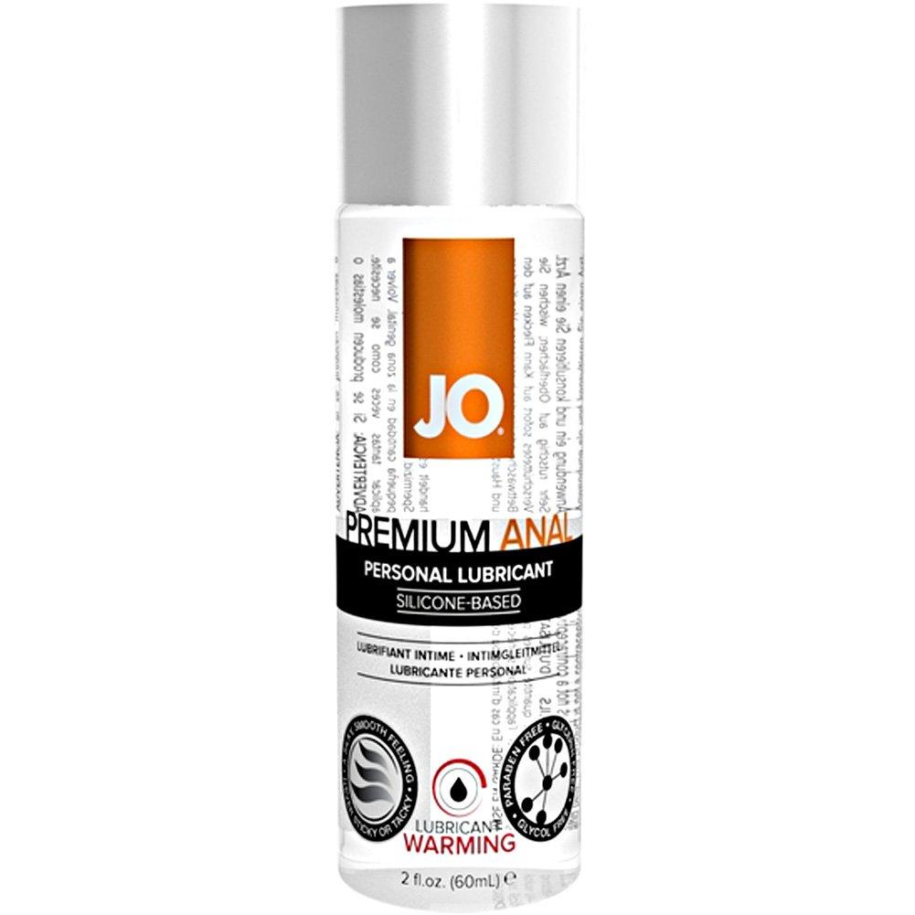 JO Premium Anal Warming Silicone Personal Lubricant, 2 Fl.Oz (60 mL)