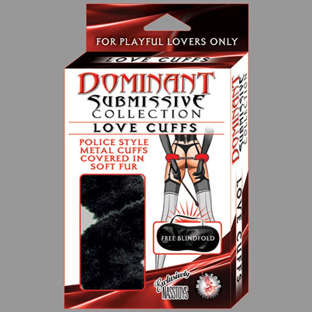 Nasstoys Dominant Submissive Collection Love Cuffs, Black