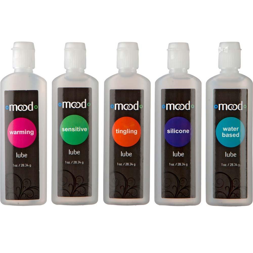 Doc Johnson Mood Pleasure Lubes Pack of 5 Bottles, 1 Fl.Oz (30 mL) Each