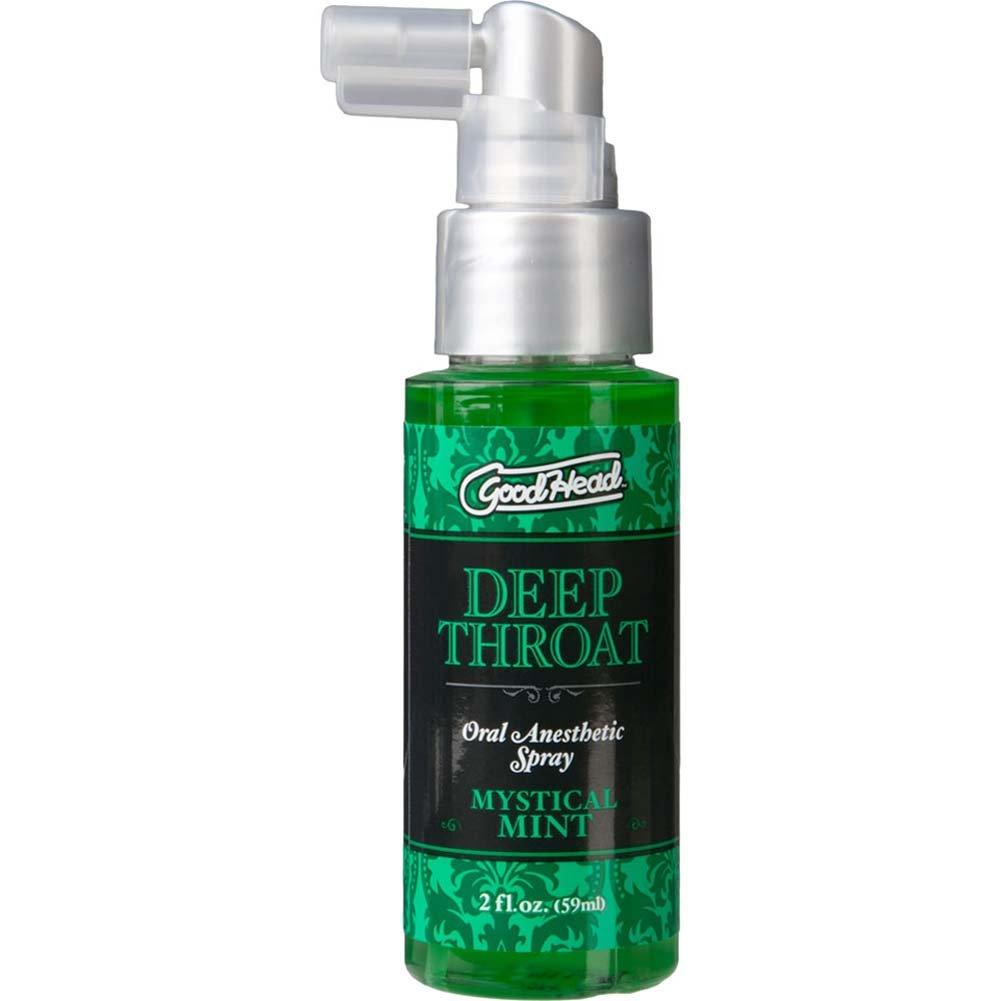 GoodHead Deep Throat Oral Sex Aid Spray, 2 Fl.Oz (59 mL), Mystical Mint