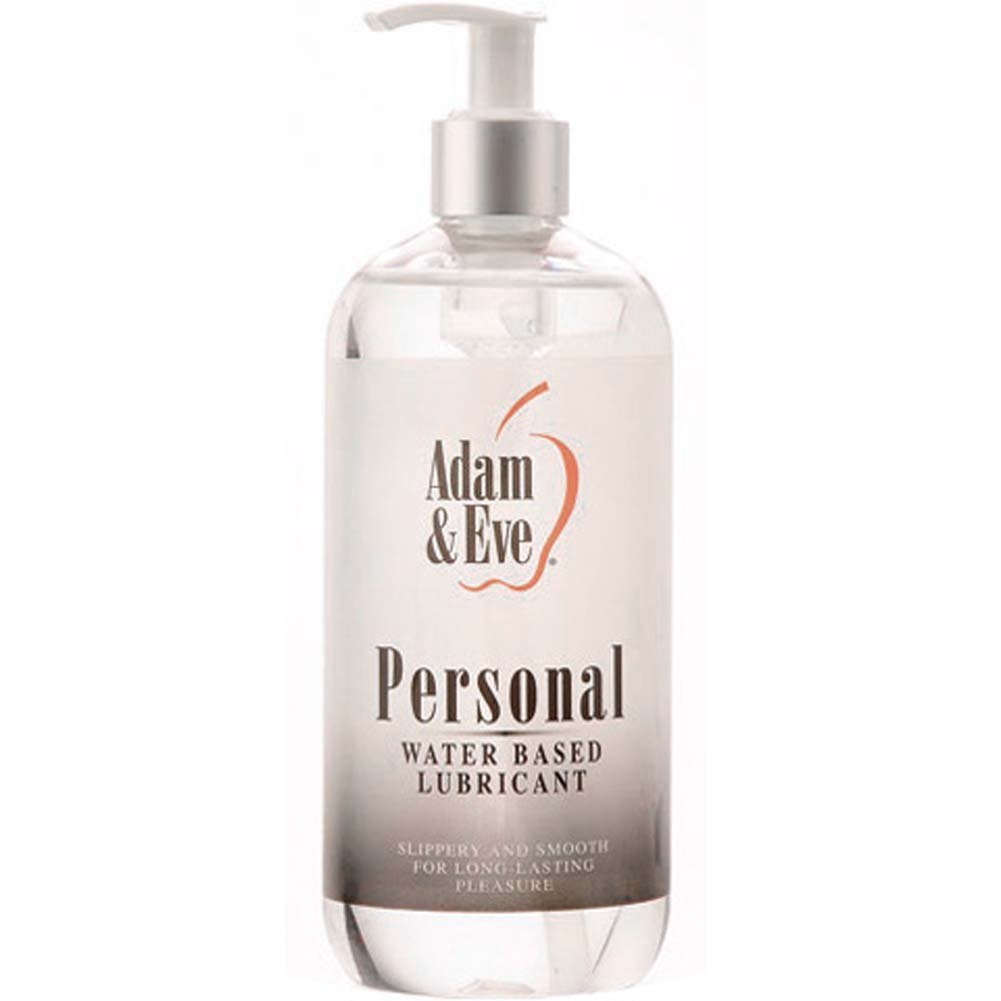 Adam and Eve Personal Water-Based Lubricant, 16 Fl.Oz (475 mL)