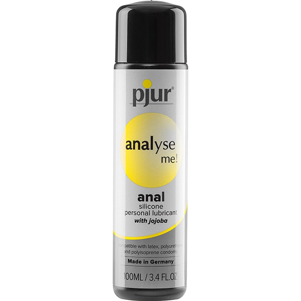 Pjur Analyse Me Relaxing Anal Glide Silicone Based Personal Lubricant, 3.4 Fl.Oz (100 mL)