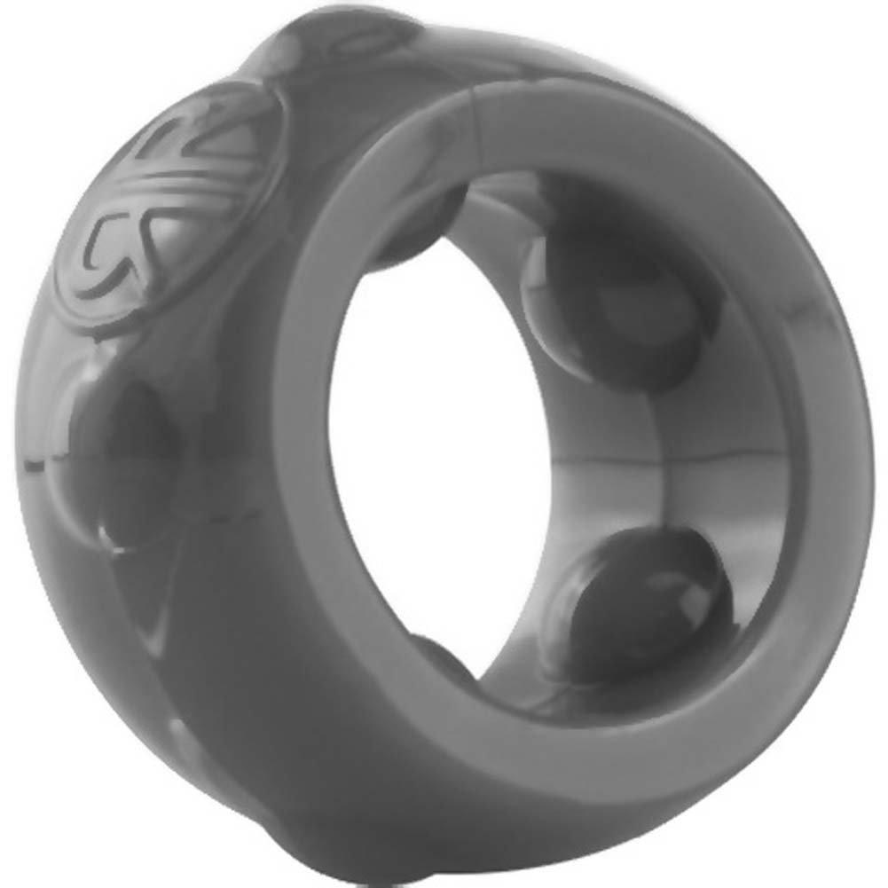 Screaming O RingO Ranglers Cannonball Silicone Cockring Gray