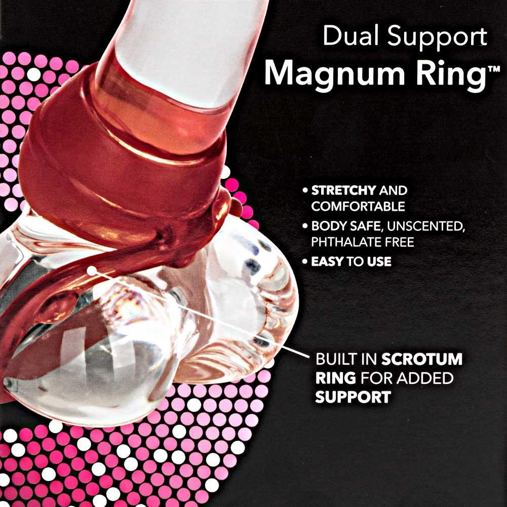 CalExotics Dual Support Magnum C-Ring, Red