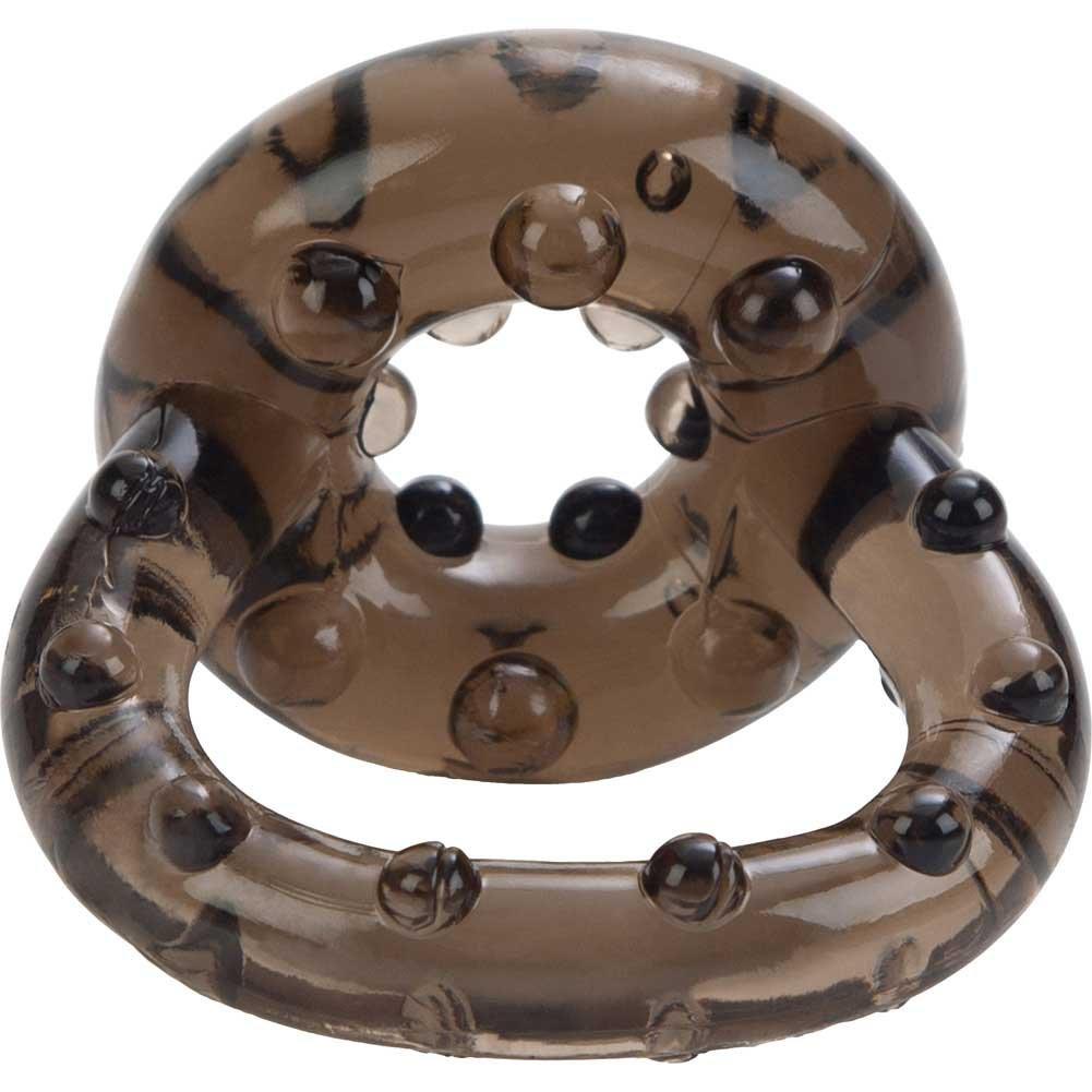 CalExotics All Star Jelly Enhancer Ring for Men, Smoke