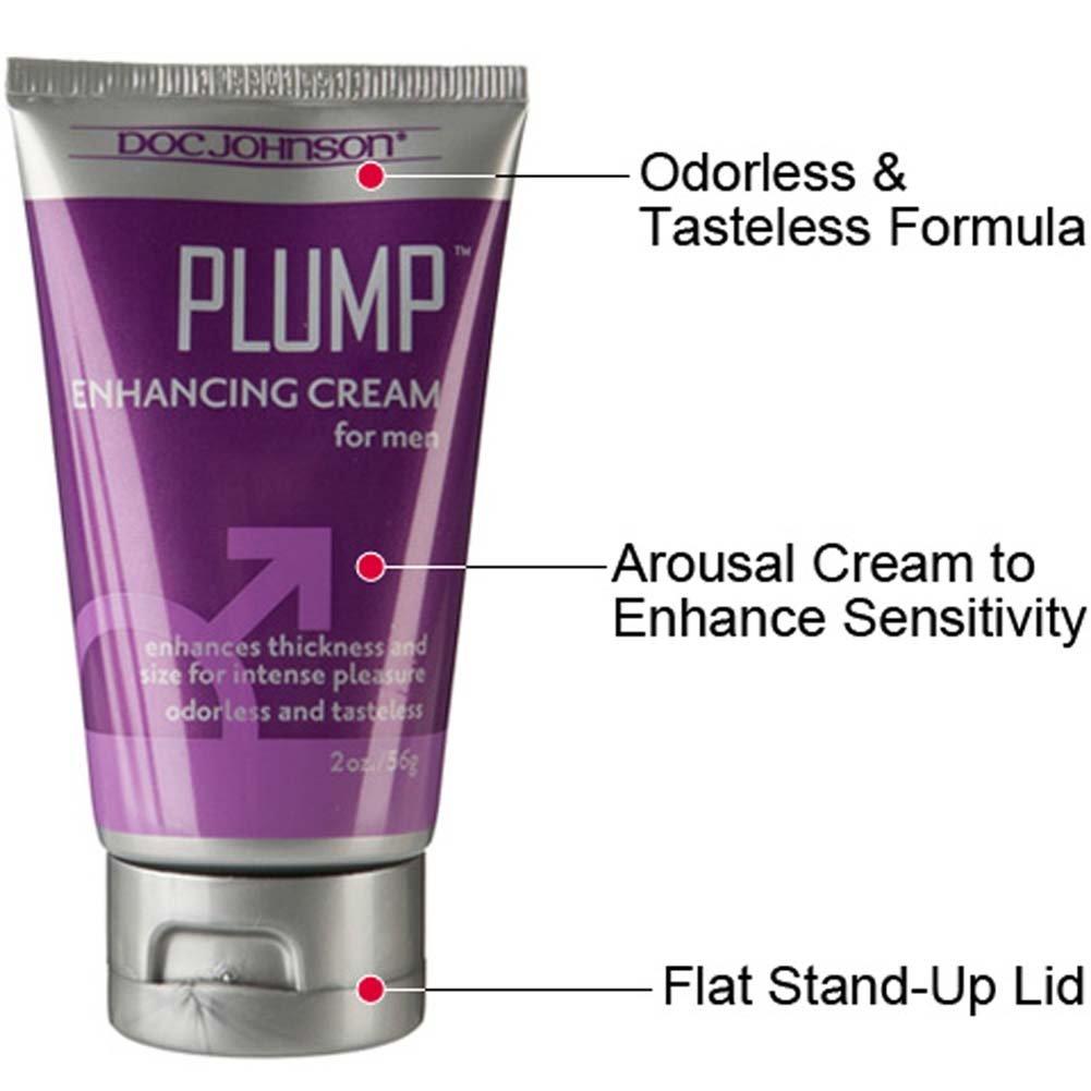 Doc Johnson Plump Enhancement Cream for Men, 2 Oz (56 G) Boxed
