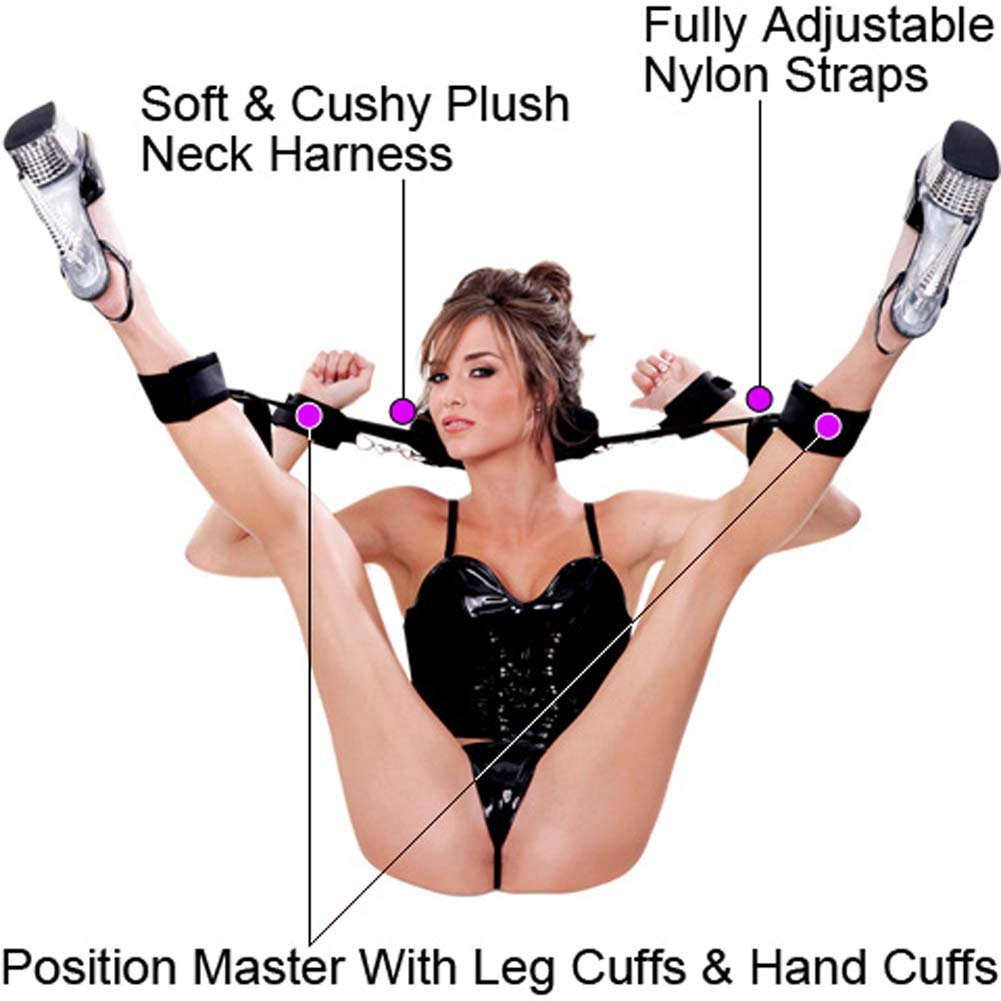 Fetish Fantasy Position Master with Cuffs and Love Mask
