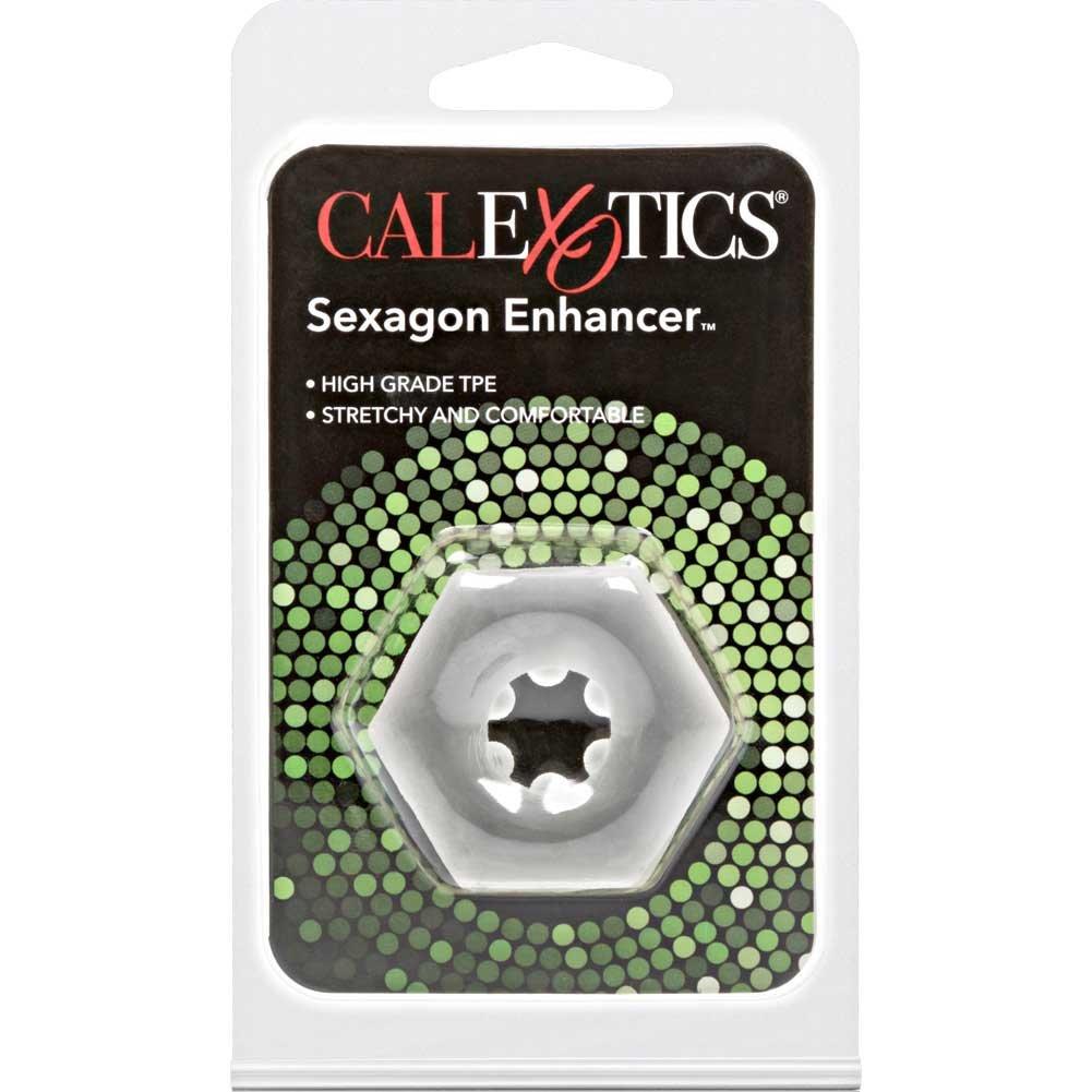 "Sexagon Enhancer Ring, 1.5"", Clear"