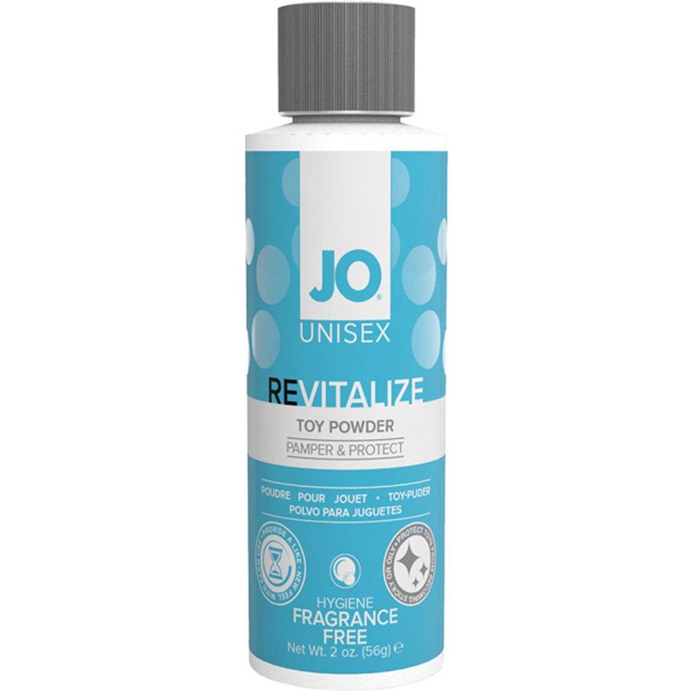 System JO Unisex ReVitalize Toy Powder, 2 Ounce (56 Gram), Fragrance Free