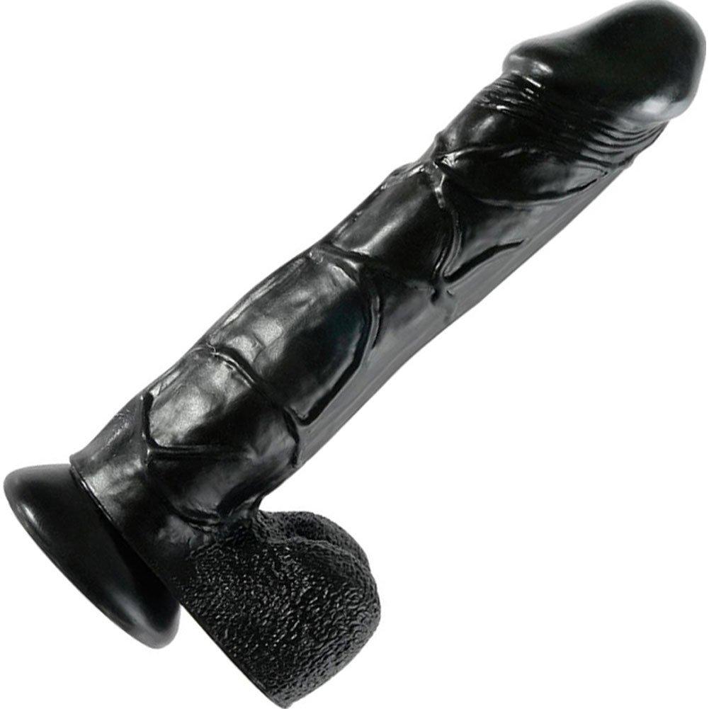 Black Rubber Dildo