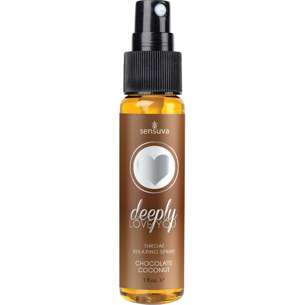Sensuva Deeply Love You Throat Relaxing Spray, 1 Fl.Oz (29 mL), Chocolate/Coconut