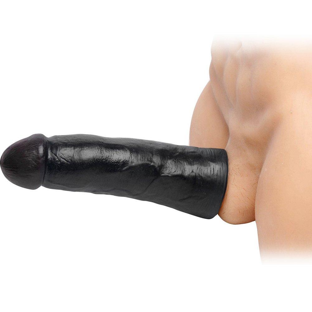 "SexFlesh 2.5"" Extra Length Sexflesh Penis Extension, 9"", Black"