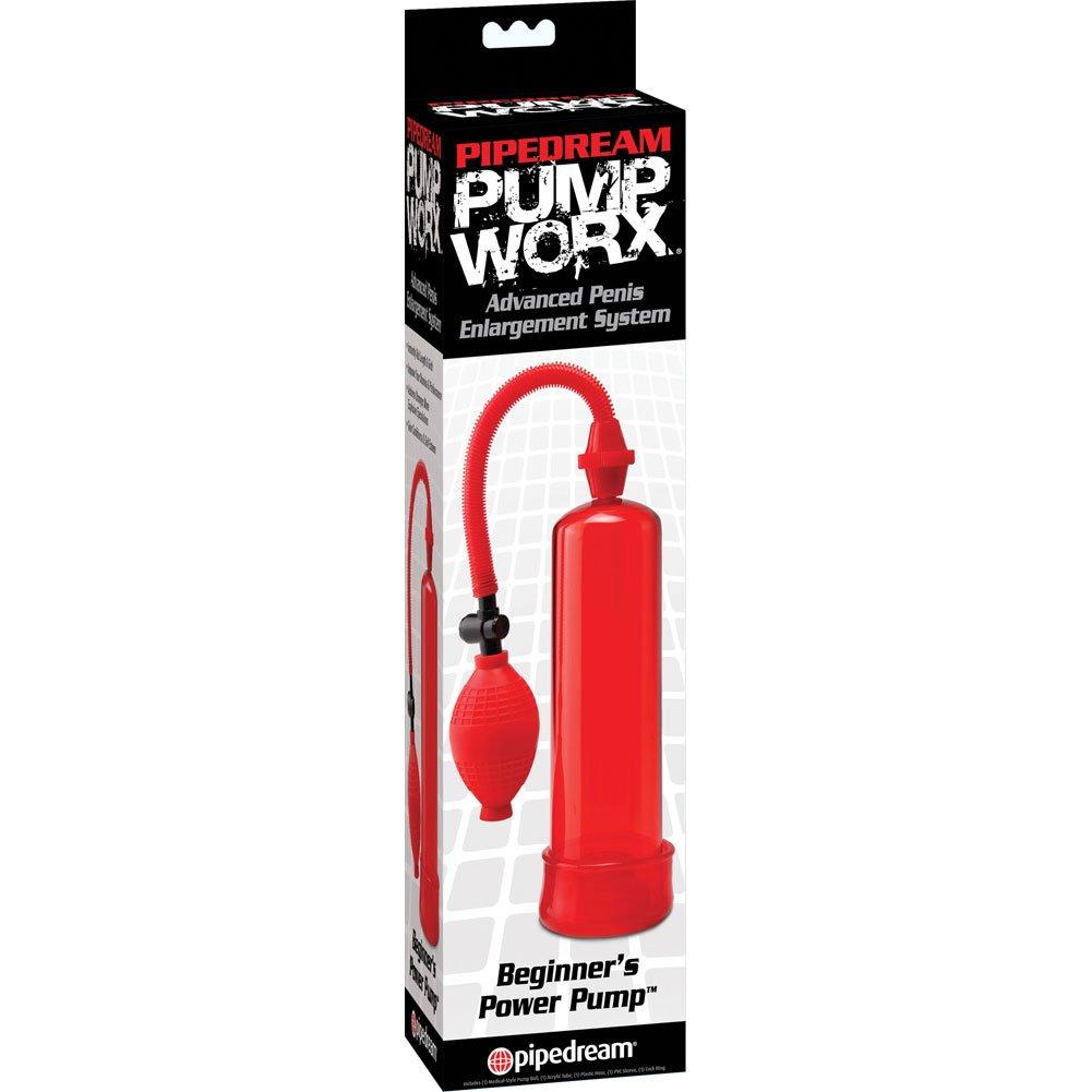 "Pump Worx Beginners Power Pump, 7.5"" by 2"", Red"