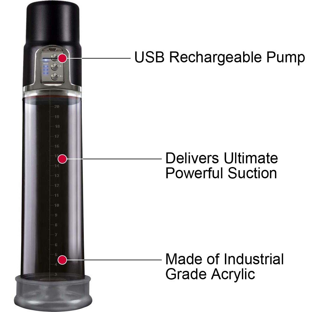 Renegade Powerhouse USB Rechargeable Pump, Black
