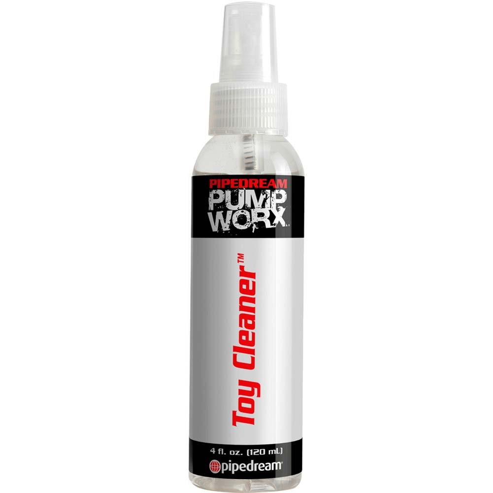 Pump Worx Anti-Bacterial Toy Cleaner, 4 Fl.Oz (120 mL)