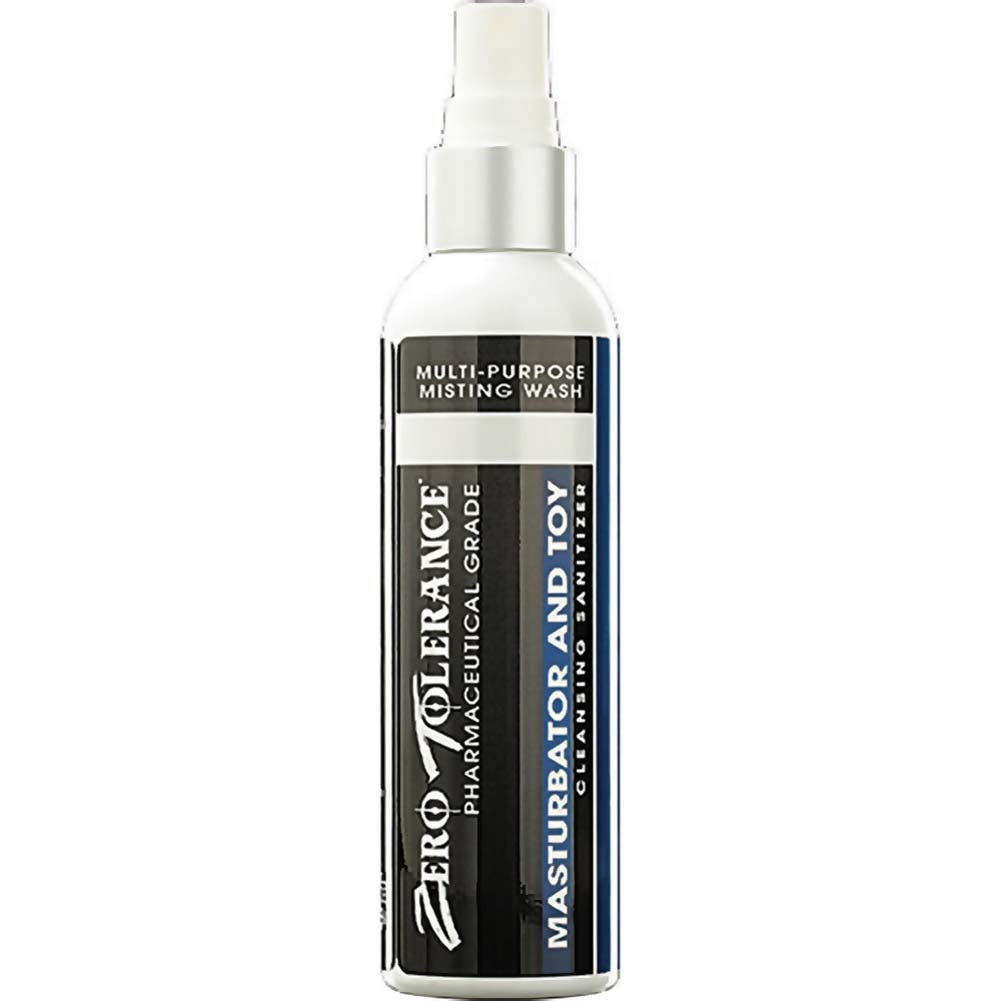 Zero Tolerance Masturbator and Toy Cleansing Sanitizer, 4 Fl. Oz.