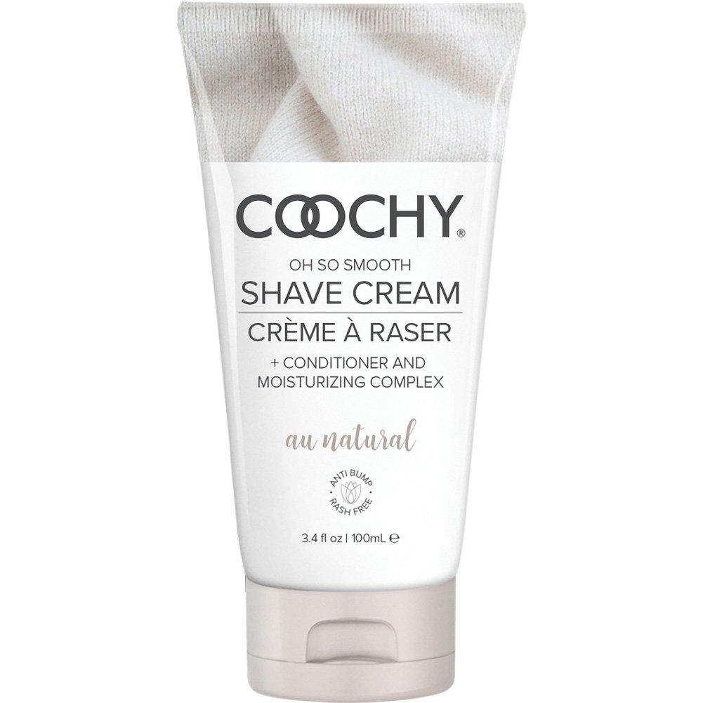 Coochy Oh So Smooth Shave Cream, 3.4 Fl.Oz (100 mL), Au Natural