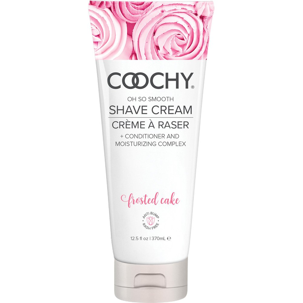Coochy Oh So Smooth Shave Cream, 12.5 Fl.Oz (370 mL), Frosted Cake