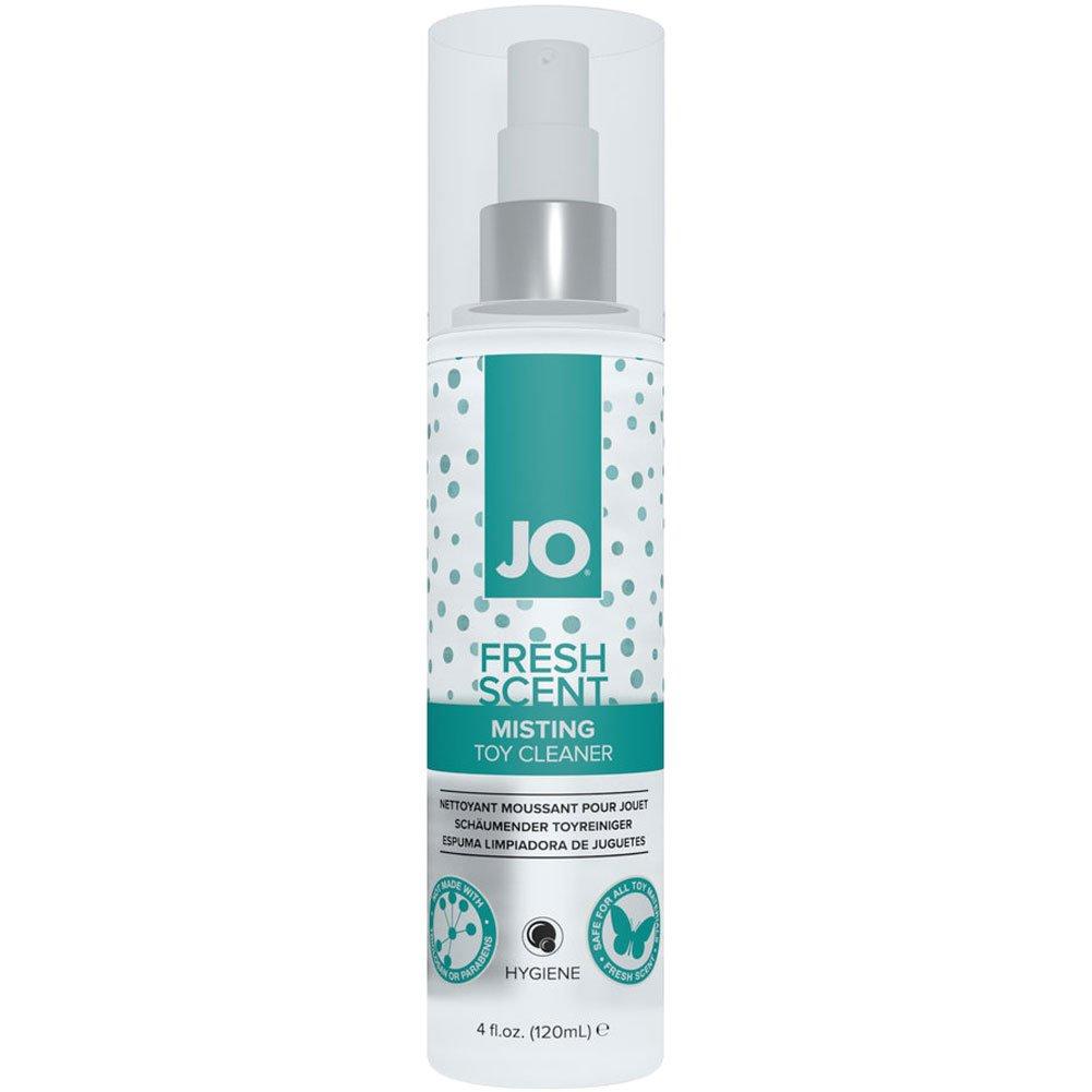 JO Misting Toy Cleaner by System JO, 4 Fl.Oz (120 mL), Fresh Scent