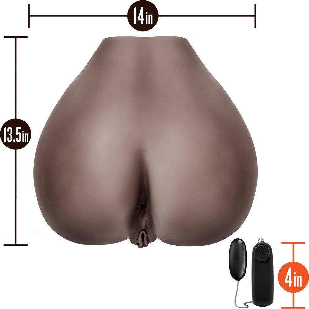 X5 Sweet Rose Lifesize Realistic Vibrating Masturbator for Men, Hot Chocolate