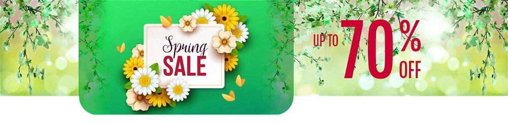 Up to 70% OFF Meteorological Spring Season Sale