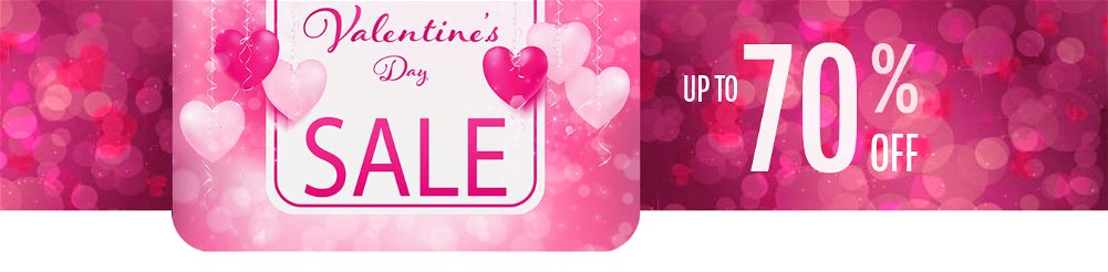 Up to 70% OFF Valentine