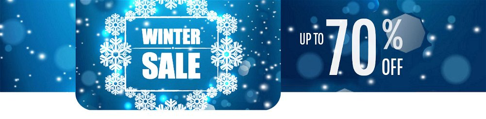 Up to 70% OFF Meteorological Winter Season Sale