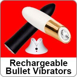 RECHARGEABLE BULLET VIBRATORS