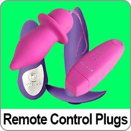 REMOTE CONTROL BUTT PLUGS
