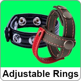 ADJUSTABLE COCK RINGS
