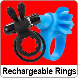 RECHARGEABLE COCK RINGS