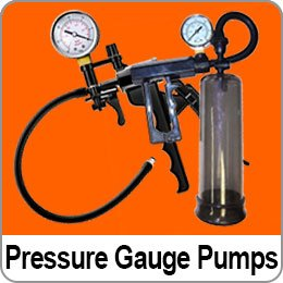 PRESSURE GAUGE PENIS PUMPS