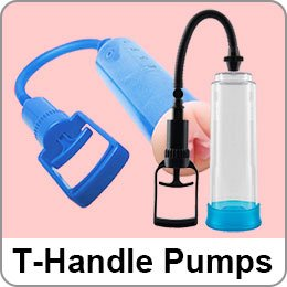 T HANDLE PENIS PUMPS