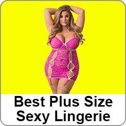 BEST PLUS SIZE SEXY LINGERIE