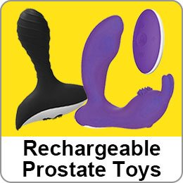RECHARGEABLE PROSTATE TOYS