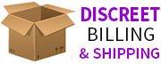 Discreet shipping and billing